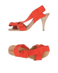 Acrobats Of God - Red Sandals - Lyst