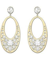 Swarovski | Metallic Ariane Pierced Earrings | Lyst