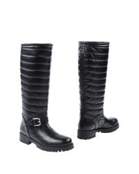 Studio Pollini | Black Boots | Lyst