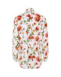 Equipment - Multicolor Floral Print Signature Shirt - Lyst