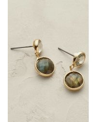 Anthropologie | Gray Solstice Earrings | Lyst