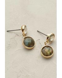 Anthropologie - Gray Solstice Earrings - Lyst