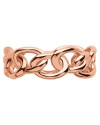 Links of London | Pink Signature Band Ring | Lyst
