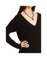 Polo Ralph Lauren - Black Cashmere V-neck Sweater - Lyst