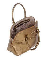 Roccobarocco - Metallic Handbag - Lyst