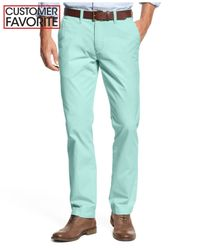 Tommy Hilfiger - Blue Men's Custom Fit Chino Pants for Men - Lyst
