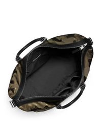 Michael Kors | Green Camo Print Convertible Duffel Bag for Men | Lyst