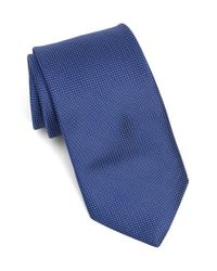 Michael Kors | Blue Microdot Silk Tie for Men | Lyst