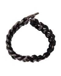 Tobias Wistisen - Black Chain Bracelet for Men - Lyst
