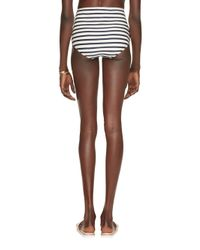 kate spade new york | Blue Nahant Shore High Waisted Bottom | Lyst