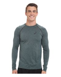 Asics | Green Seamless Long Sleeve for Men | Lyst