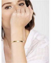 BaubleBar | Metallic Bar Nameplate Bracelet - Silver | Lyst