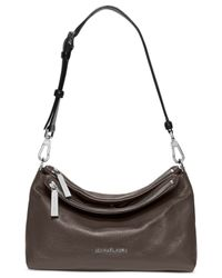 Michael Kors | Gray Michael Jane Medium Shoulder Bag | Lyst