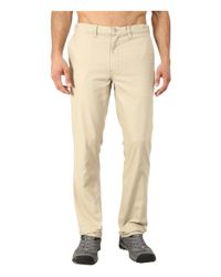 Patagonia | Natural Straight Fit Duck Pant - Short for Men | Lyst