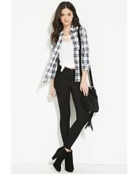 Forever 21 - Natural Classic Plaid Shirt - Lyst