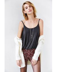 Silence + Noise - Black Night Out Bubble Top - Lyst