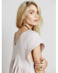 Free People - Metallic Womens Simply Beachy Mini - Lyst
