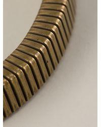 Isabel Marant - Brown Semirigid Bracelet - Lyst
