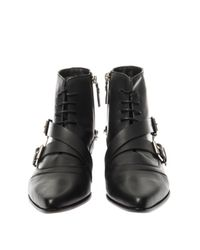 Tabitha Simmons - Black Bryon Leather Ankle Boots - Lyst