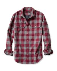 Banana Republic | Red Slim-fit Quilted Gingham Shirt for Men | Lyst