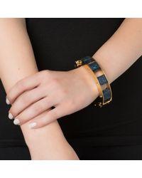 Lele Sadoughi | Stone Cube Slider Bracelet, Atlantic Blue | Lyst