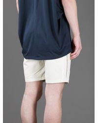Kai-aakmann - White Bermuda Shorts for Men - Lyst