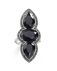 Thomas Sabo | Maharani Triple Black Onyx Ring | Lyst