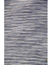Missoni - Gray Striped T-shirt for Men - Lyst