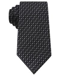 Kenneth Cole Reaction | Black Multi-dot Tie for Men | Lyst