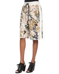 Rag & Bone - Multicolor Yuri Floral-print Boxing Shorts - Lyst