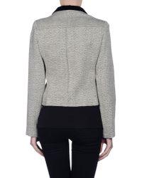 Balenciaga - Gray Blazer - Lyst