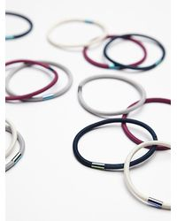 Free People | Blue Color Pop Elastics | Lyst