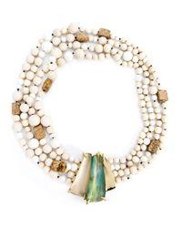Alexis Bittar | Natural 'tressard' Multi Strand Necklace | Lyst
