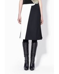 3.1 Phillip Lim - Black Eclipse Seamed Skirt - Lyst