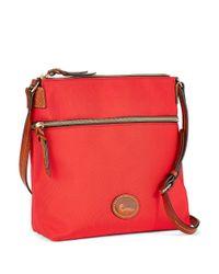 Dooney & Bourke | Red Nylon Crossbody Bag | Lyst