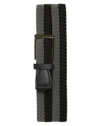 Ted Baker | Black Two-tone Elastic Belt for Men | Lyst
