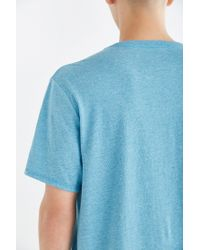 BDG - Blue Standard-fit Crew Neck Tee for Men - Lyst