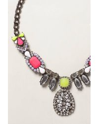 Anthropologie | Multicolor Neon Lucayan Necklace | Lyst