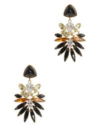 Lizzie Fortunato - Multicolor Paradise Green Stone Earrings - Lyst
