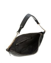 Halston - Black Hobo - Chain Handle - Lyst