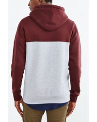 Obey - Red West Pullover Hooded Sweatshirt for Men - Lyst