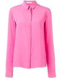 Dorothee Schumacher | Pink Silk Shirt | Lyst