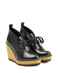 Robert Clergerie - Leather Ankle Boots With Platform - Black - Lyst