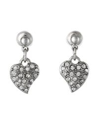Guess - Metallic Trio Set Earring - Lyst