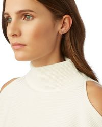 Adina Reyter | Metallic Pave Diamond Bar Earring | Lyst