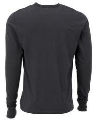 47 Brand - Gray Men's Long-sleeve San Jose Sharks Flanker T-shirt for Men - Lyst