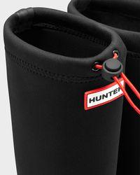 Hunter   Black Women's Original Tour Neoprene Rain Boots   Lyst