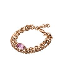 Dyrberg/Kern | Purple Elisa/b Metal Bracelet | Lyst