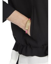 Marc By Marc Jacobs - Standard Supply Pink Bracelet - Lyst