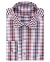 Van heusen flex collar gingham dress shirt in multicolor for Van heusen shirts flex collar